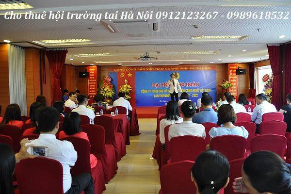 Các sự kiện mới nhất được diễn ra tại hội trường 25t2 Hoàng Đạo Thúy
