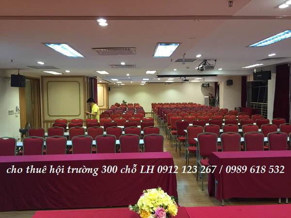 Giới thiệu các hội trường cho thuê tại 25T2 Hoàng Đạo Thúy