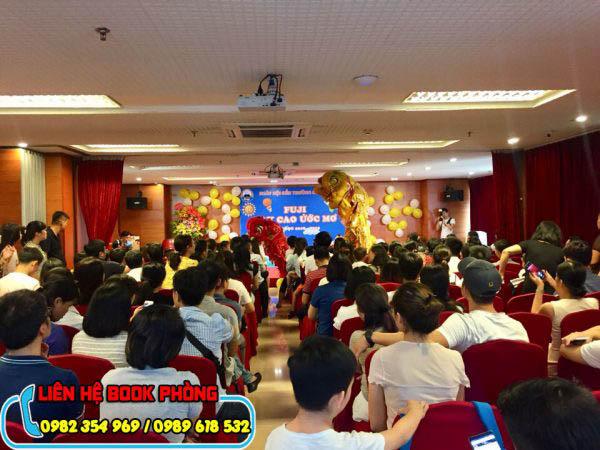 thuê hội trường tổ chức sự kiện
