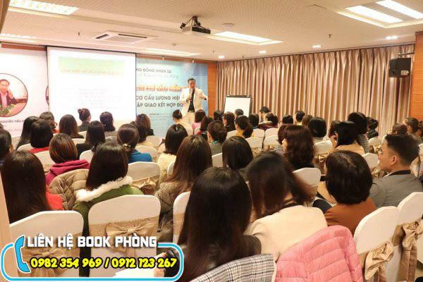 cho thuê hội trường tổ chức Workshop tại Hà Nội