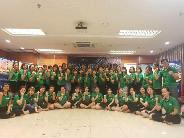 Khóa đào tạo I'm a Leader - Bản lĩnh nhà lãnh đạo tổ chức tại Hội trường Hà Nội