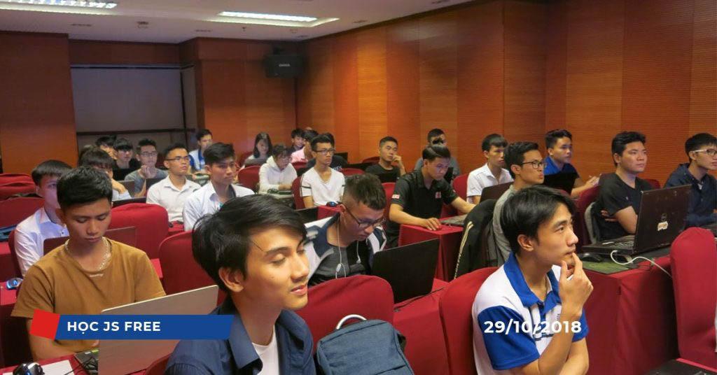Lớp học Javascript miễn phí tại NIIT – ICT Hà Nội (Tháng 10/2018)