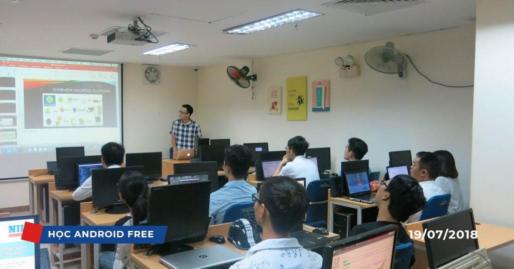 Lớp học Android Basic miễn phí tại NIIT – ICT Hà Nội (Tháng 7/2018)