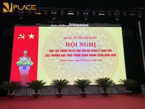 Vplace cho thuê hội trường, phòng hội thảo lớn 300 - 500 chỗ trung tâm Hà Nội