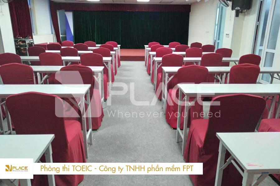 Kỳ thi Toeic của FSoft tại hội trường 84 Duy Tân