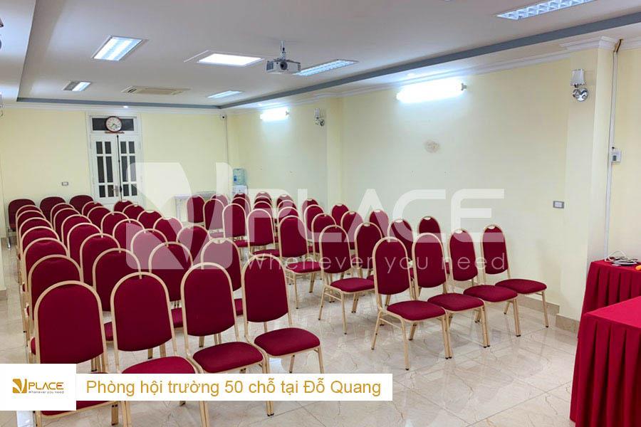 Hội trường VPLACE 50 chỗ tại Đỗ Quang - Cầu Giấy