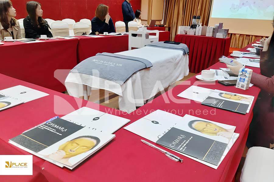 VPLACE cho thuê hội trường tổ chức lễ ra mắt liệu trình trẻ hóa vô cực - công nghệ hàng đầu châu Âu