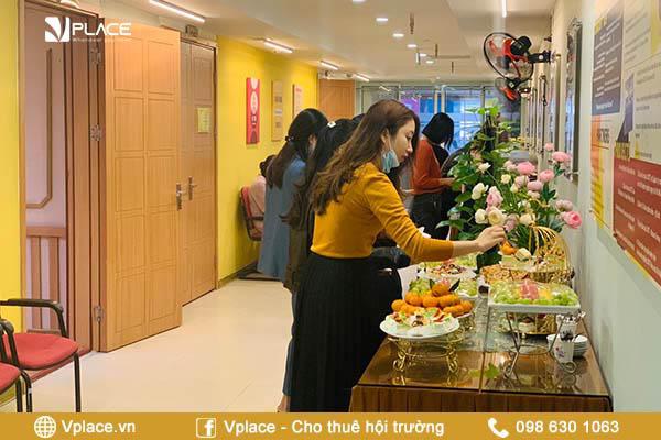 Dịch vụ teabreak tại Vplace