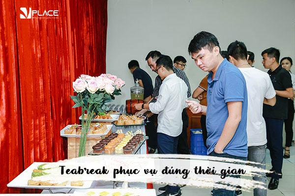 dịch vụ tiệc trà tại Vplace